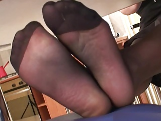 Pantyhose,Black and Ebony,Panties,Fetish,Foot Fetish,Nylon