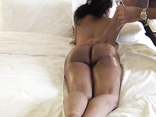 Indian,Big Ass,Massage,Mature,Wife,Cuckold