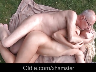 Amateur,Blowjob,Cumshot,Hardcore,Mature,Old and young,Outdoor,Teen