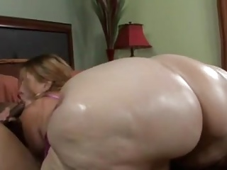 BBW,Big Ass,Big Cock,Blowjob,Creampie,Shower