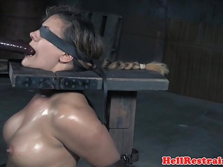 Gagging,BDSM,Big Boobs,Sex Toys