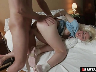BrutalClips - Teen Helena Keynes Gets Fucked & Spanked