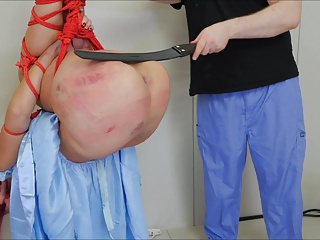Tanzi Is Spanked Hard And Then Ass Fucked