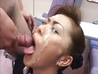 Asian,Cumshot