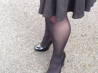 British,Voyeur,Stockings,MILF