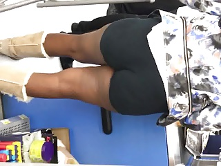 Black and Ebony,Big Ass,High Heels