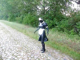 Maid,Latex,Outdoor,BDSM