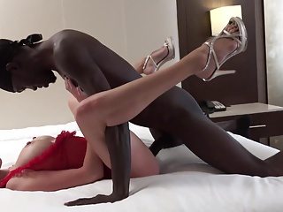 Interracial,Big Cock,Wife,Black and Ebony