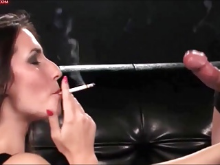 Smoking,Pornstar,Blowjob