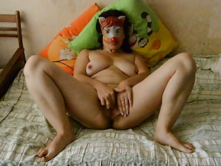 Masked,Homemade,Russian,Amateur,Hairy,Mature,Masturbation
