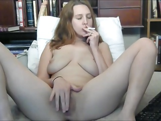 Smoking,Hairy,Fingering,Masturbation