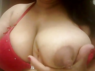 Milk,Latina,Lingerie,Nipples