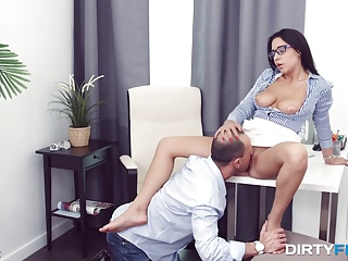 Glasses,Big Cock,Blowjob,Brunette,Hardcore,Hidden Cams,POV,Teen,Big Ass
