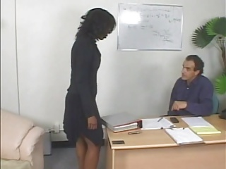 Office,Spanking,Black and Ebony,Big Ass