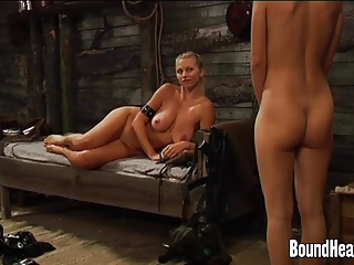 Maid,Femdom,Blonde,Lesbian,Teen,BDSM,Big Boobs