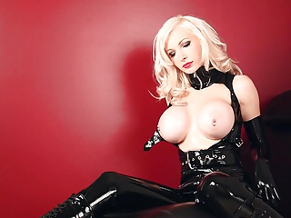 Latex,Babe,Big Boobs,Black and Ebony,Blonde,High Heels