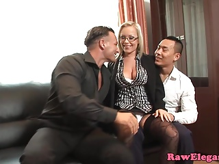 Money,Threesome,Babe,Double Penetration,Anal