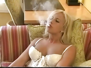 Smoking,Nylon,Lingerie,Softcore,MILF,Stockings