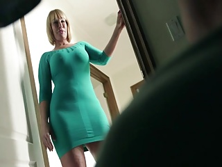 Stepmom,Mature,MILF,Big Cock,Big Boobs,Blowjob,Cumshot,Natural