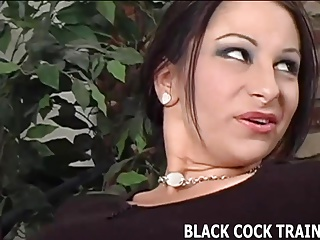 His big black is going right up your wifes ass