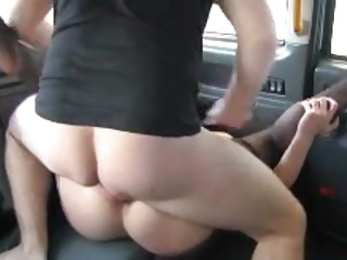 taxi driver fucked the whore with tight ass