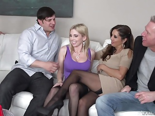 Swingers,Group Sex,Stockings,Pornstar