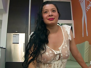 Latina,Big Ass,Big Boobs,Brunette,Cumshot,Natural
