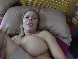 Stepmom,Big Boobs,Creampie,Mature,MILF,Old and young,POV,Teen