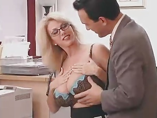 Secretary,Mature,Glasses,Big Ass,Big Boobs,Chubby,Hardcore,High Heels,MILF