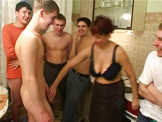 Gangbang,MILF,Hardcore,Mature,Old and young,Teen