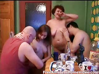 Russian,Daughter,Gangbang,Group Sex,Hardcore,Kitchen,Mature,Old and young,Swingers,Teen