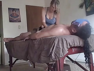 Massage,Flashing,Amateur