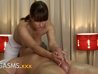 Massage,Couple,Orgasm,Kissing,Big Ass,Big Boobs,Blowjob,Brunette,Hardcore