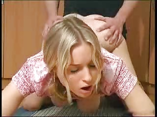 Very cute busty girl gets fucked
