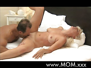 Mature,Orgasm,Big Boobs,Blonde,MILF,Ass licking