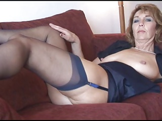British,Stockings,Blonde,Mature,MILF
