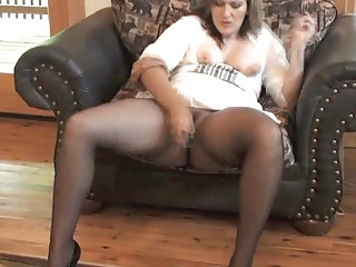 Pantyhose,Mature,BBW,MILF,Panties,Stockings,Masturbation