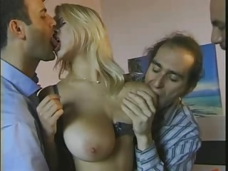 Double Penetration,Hardcore,Big Boobs,Blonde,Group Sex