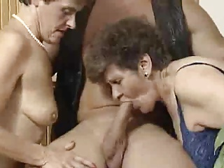 Mature,Grannies,Group Sex
