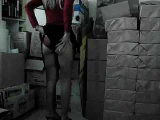 Office,Voyeur,Hidden Cams,Blonde,Masturbation
