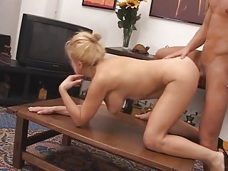 SUPER SEXY BUSTY MOM ANALIZED  & FACIALIZED BY HER...  -B$R