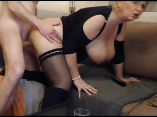 BBW,Blonde,Blowjob,Hardcore,High Heels,MILF,Stockings