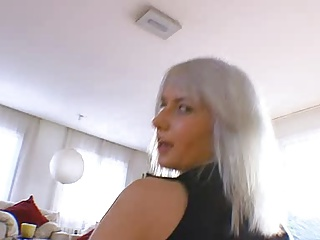 Blonde,Casting,Facial,Hardcore