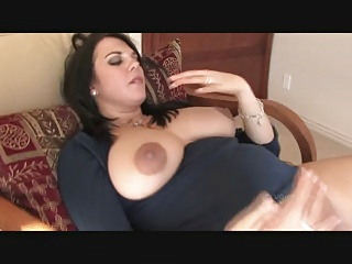Julie Milks Her Tits And Opens Her Cunt Wide