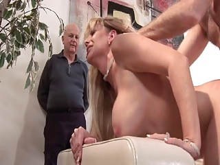 Mature,MILF,Big Boobs,Blonde,Blowjob,Facial