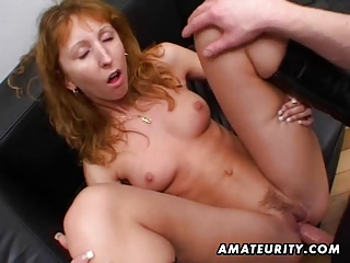Redhead,Amateur,Blowjob,Cumshot,Double Penetration,Facial,Homemade,MILF,Shaved,Anal