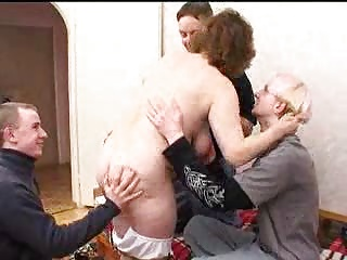 Mature,Gangbang,Group Sex,Hardcore,Russian