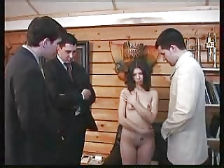 Arab,Brunette,Group Sex,Hardcore,Threesome,Anal
