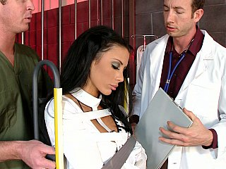 Blowjob,Brunette,Close-up,Doctor,Uniform