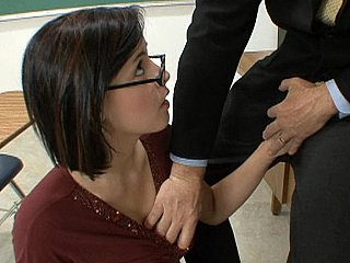 Glasses,Titfuck,Strip,Blowjob,Brunette,Close-up,Hardcore,Lesbian